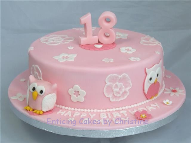Birthday Cake 18 Years Old Girl Images Ataccs Kids